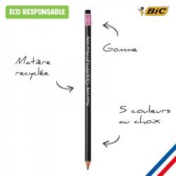 Crayon papier BIC gomme Classic Ecolutions
