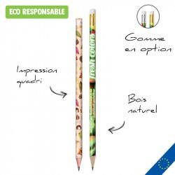 Crayon de bois entièrement personnalisable
