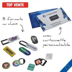 Cache webcam + cartonnette personnalisable