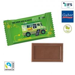 Chocolat individuel publicitaire GUBOR