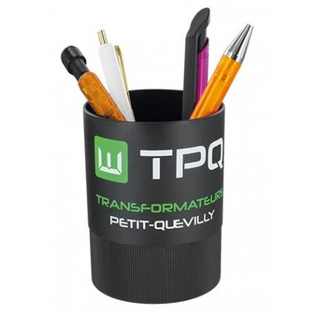 Pot à crayon plastique recylcé