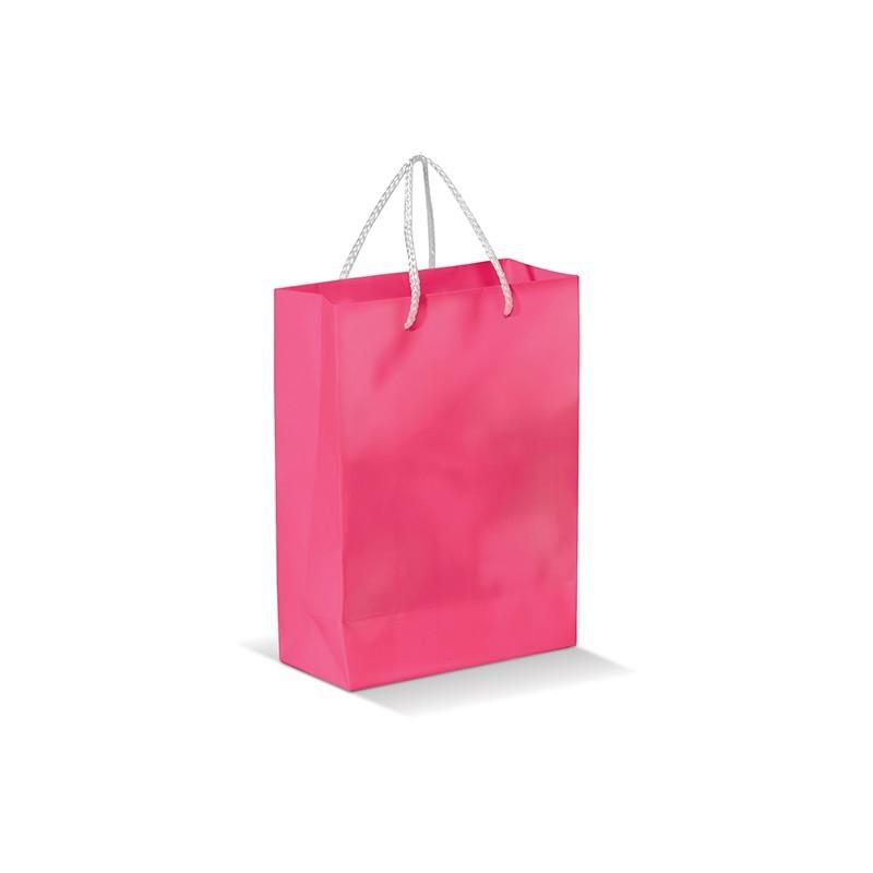 petit sac papier personnalis avec vote logo finitions brillantes. Black Bedroom Furniture Sets. Home Design Ideas