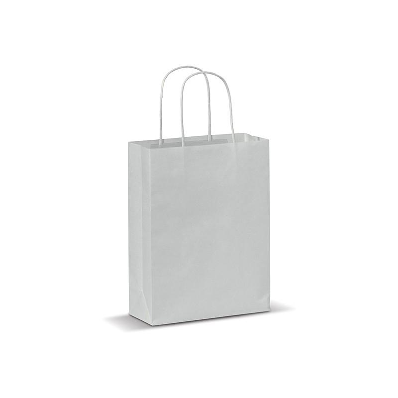 petit sac personnalis avec logo mod le papier look ecolo. Black Bedroom Furniture Sets. Home Design Ideas