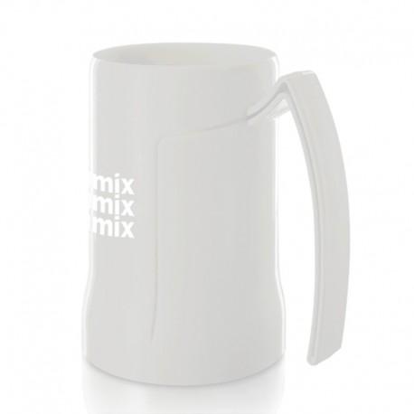 Mug chope de bière plastique (ABS) 50cl