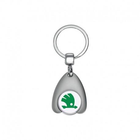 Porte-clés avec jeton de caddie et décapsuleur