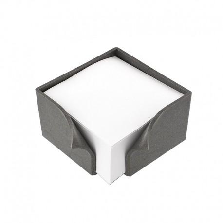 Support bloc papier (90x90x48mm) en EcoAllene