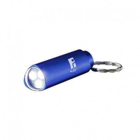 Porte-clés lampe 3 leds avec boite