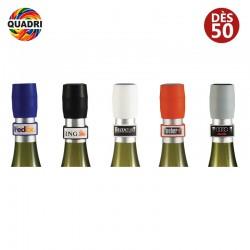 Bouchon de vin personnalisé en silicone