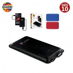 Batterie powerbank 'maroquinier'