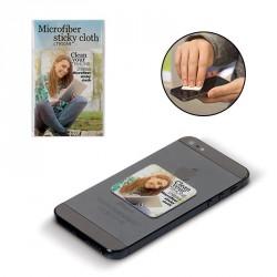 Nettoyeur écran microfibre repositionnable - Sticky cleaner personnalisé