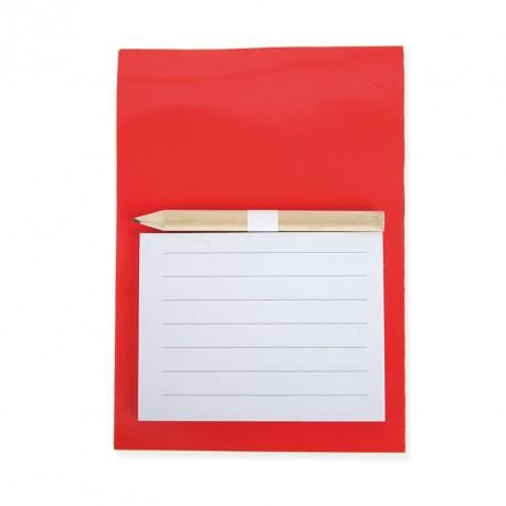 Papiers repositionnables dans une couverture rigide