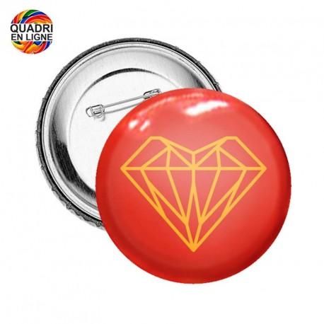 Badge 90mm de diamètre
