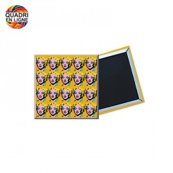 Magnet publicitaire 50x50 mm