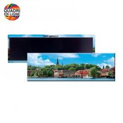 Magnet publicitaire 115x37 mm