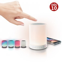Enceinte Bluetooth Lampe et kit mains libres