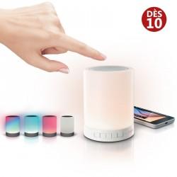 Enceinte Bluetooth Lampe Tactile Publicitaire