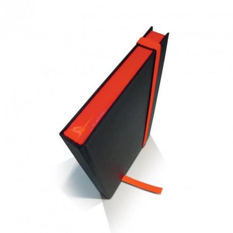 Carnet de note tranche colorée