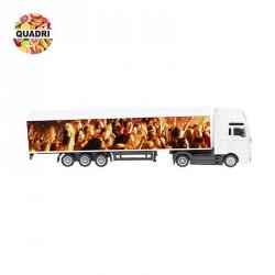 """Camion miniature """"MAN Truck"""" personnalisé"""