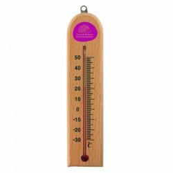 Thermomètre bois personnalisé
