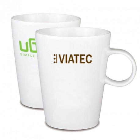 Tasse publicitaire porcelaine Tea Time