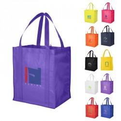 Grand sac shopping personnalisé avec fond cartonné