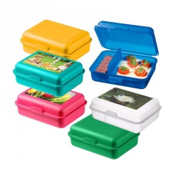 Lunch box plastique publicitaire