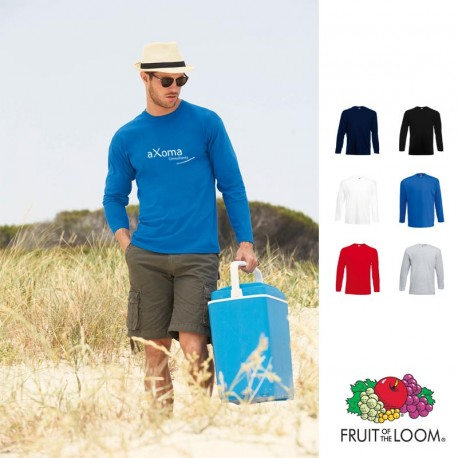 T-shirt manche longue personnalisé Fruit of the Loom