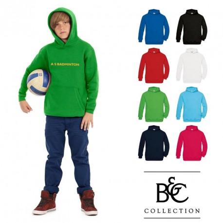 Sweat-shirt capuche enfant B&C publicitaire