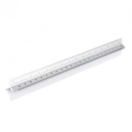 Règle kutch publicitaire aluminium 30 cm 5 échelles