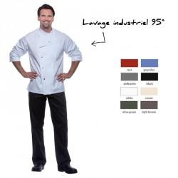 Veste de cuisine unisex personnalisée