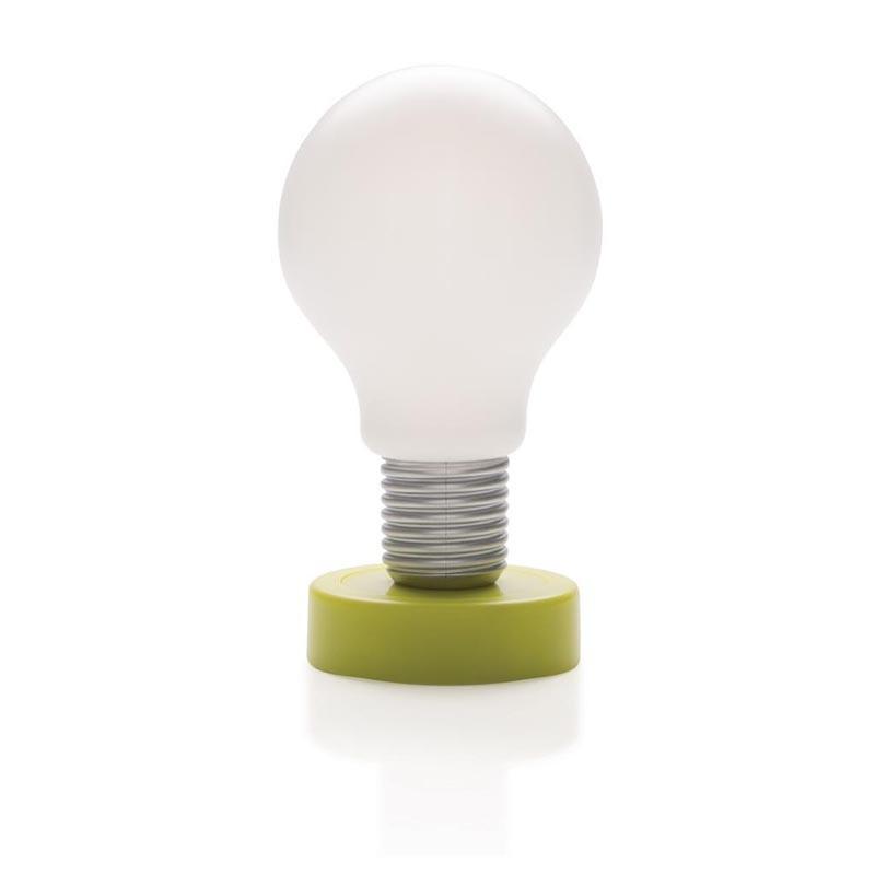 lampe led publicitaire lampe ampoule poussoir. Black Bedroom Furniture Sets. Home Design Ideas