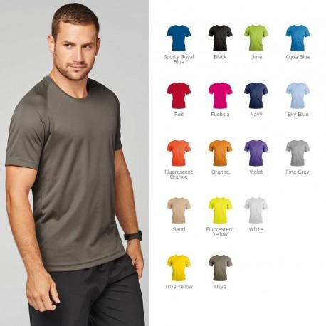 T-shirt technique de sport publicitaire