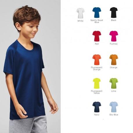 T-shirt de sport personnalisé pour enfant