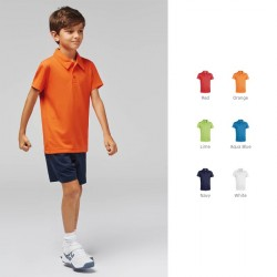 "Polo sport ""Cool Plus"" enfant personnalisable"