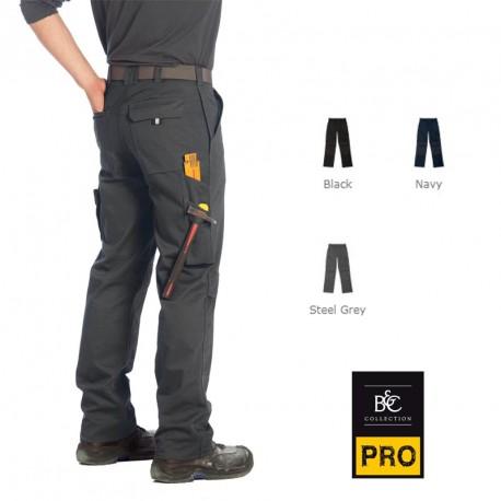 Pantalon de travail B&C Pro personnalisé