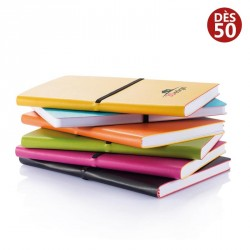 Carnet de notes A5 publicitaire couverture souple