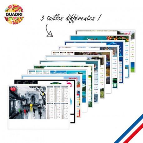 Calendrier publicitaire 570x410 mm