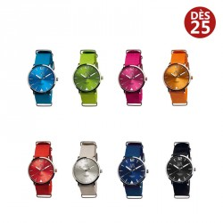 "Montre ""color"" publicitaire"