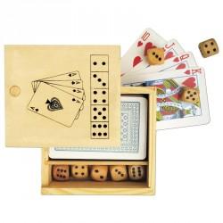 Set jeu de 52 cartes et 5 dés personnalisé