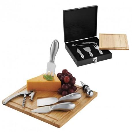 Set vin et fromage personnalisé