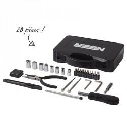 Boîte à outils personnalisable 28 pièces