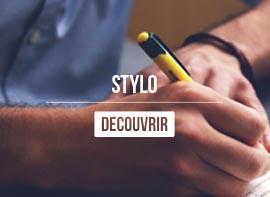 stylo publicitaire personnalisable