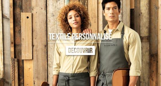 textile personnalisé pour professionnels et associations