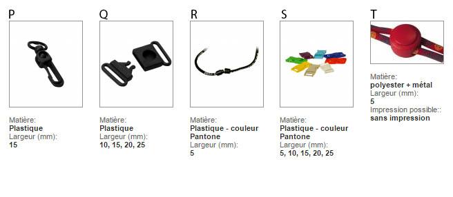 Accessoires lanyard personnalisé