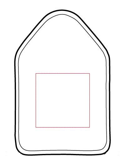 zone personnalisation housse pour bouteille