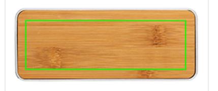 zone gravure enceinte bambou