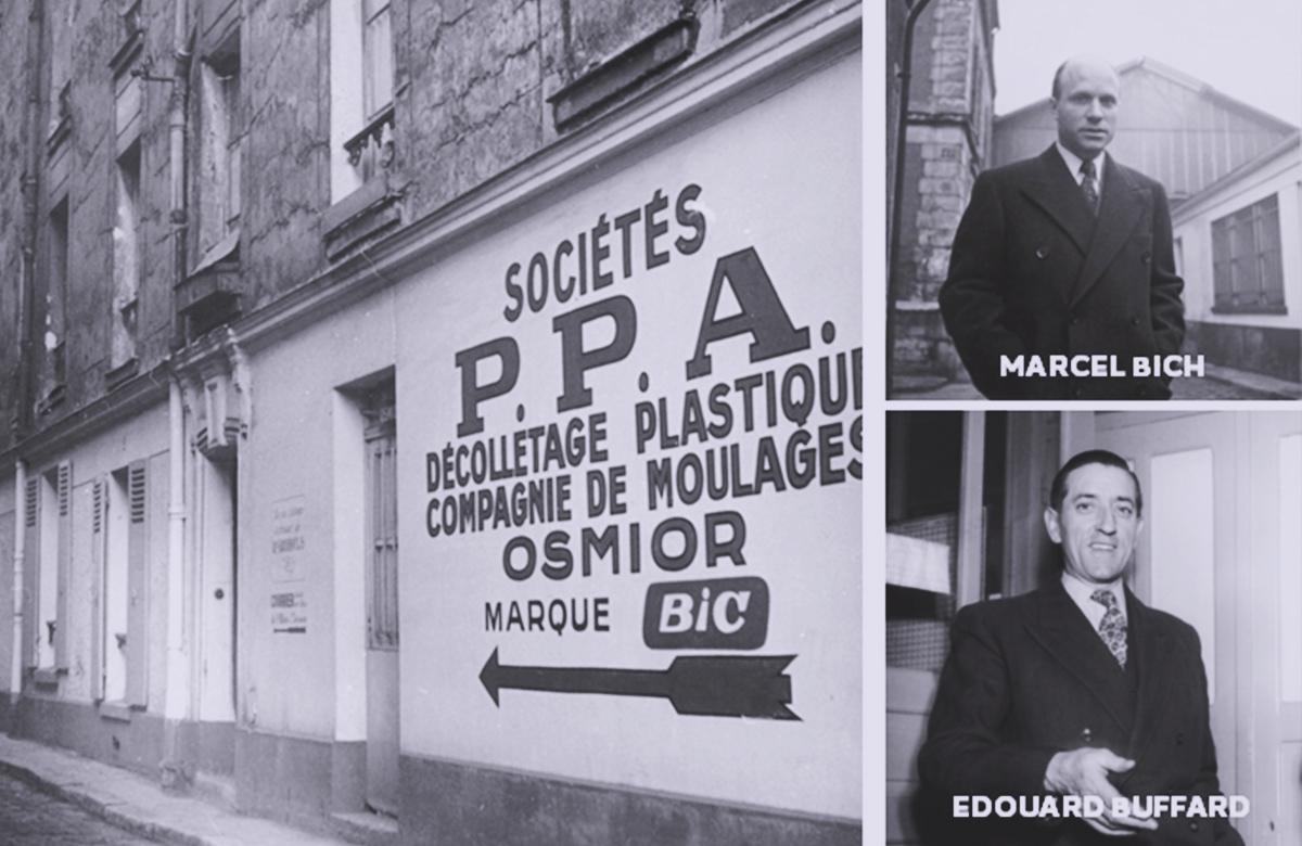 Histoire BIC - Marcel BICH créateur